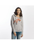 Khujo Santja Print Sweatshirt Light Grey