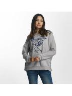 Khujo Marita Sweatshirt Mid Grey Melange