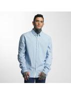 Khujo overhemd Ross Woven blauw
