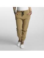 Khujo Pantalon chino Rafaela beige