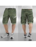 Khujo shorts Clix groen
