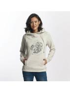 Khujo Greta With Print Sweatshirt Pristine Melange