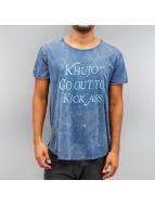 Khujo T-Shirt Ulaf blau