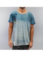 Khujo T-Shirt Tes bleu