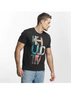 Khujo t-shirt Umito grijs