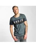 Khujo t-shirt Toulouse groen