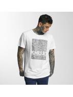 Khujo t-shirt Tario wit