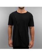 Khujo t-shirt Tyrell zwart