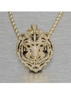 KING ICE Цепочка Jungl Julz Bengal Tiger золото
