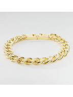 KING ICE Armband Gold_Plated 10mm Miami Cuban Curb goldfarben