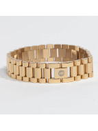 KING ICE armband Gold_Plated 15mm Watch Link goud