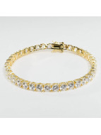 KING ICE Bracelet Gold_Plated 5mm Single Row or