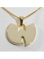 KING ICE Collier WU-TANG CLAN Gold_Plated 925 Sterling_Silver