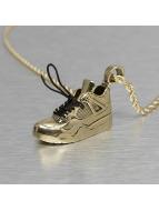 KING ICE Kette Air Sneaker goldfarben
