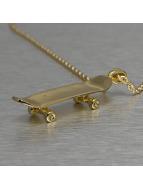 KING ICE Kette Solid Skateboard goldfarben