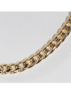 KING ICE Kette Gold_Plated 10mm Miami Cuban Curb Chain goldfarben