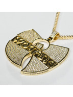 KING ICE Kette WU-TANG CLAN Gold_Plated CZ The Forever goldfarben