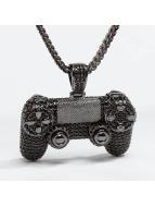 KING ICE ketting CZ Pro Gamer Controller zwart