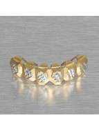KING ICE More Gold_Plated Diamond Cut gold colored