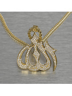 KING ICE Necklace Allah gold