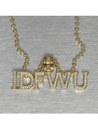 KING ICE Necklace IDFWU gold