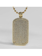 KING ICE Necklace JUNGL JULZ gold colored