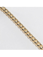 KING ICE Necklace Gold_Plated 3mm Miami Cuban Curb gold colored