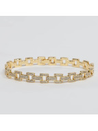 KING ICE Pulsera Gold_Plated The Link oro
