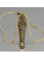 KING ICE Zincirler Tut Coffin altın