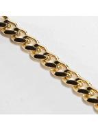 KING ICE Zincirler Gold_Plated 5mm Miami Cuban Curb altın