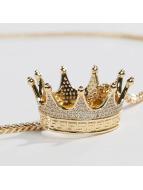 KING ICE Zincirler EMPIRE FOX Gold_Plated CZ Small Lucious Lyon altın