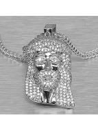 KING ICE Zincirler Jesus Tear gümüş