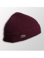 Lacoste Classic шляпа Half Cardigan Rib красный