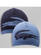 Lacoste Classic Beanie Jacquard blauw