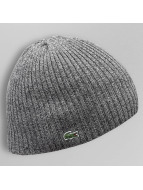 Lacoste Classic Beanie Double Rib grey