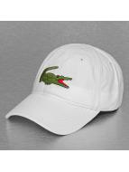 Lacoste Classic Gorra Snapback Logo blanco