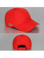 Lacoste Classic Gorra Snapback Strapback rojo