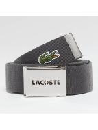 Lacoste Classic Gürtel Canvas grau