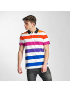 Lacoste Classic Polo Stripes blanc