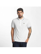 Lacoste Classic Poloshirt Short Sleeved Ribbed Collar weiß