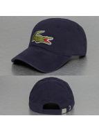 Lacoste Classic snapback cap Logo blauw
