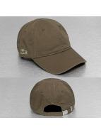 Lacoste Classic snapback cap Gabardine 3cm Croc olijfgroen