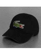 Lacoste Classic Snapback Cap Logo schwarz