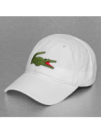 Lacoste Classic Snapback Cap Logo weiß