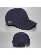 Lacoste Classic Snapback Gabardine Croc Strapback Cap modrá