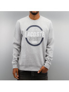 Lacoste Classic Swetry Logo srebrny