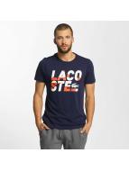 Lacoste Classic T-Shirt Kroko bleu