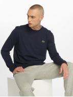 Lacoste Classic T-Shirt manches longues Sport bleu