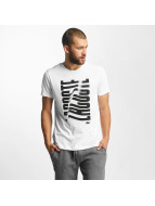 Lacoste Classic T-Shirt Wave weiß