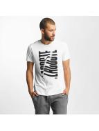 Lacoste Classic t-shirt Wave wit